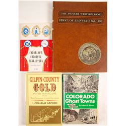 Colorado History Books (4)  (63340)