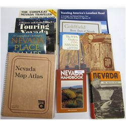 10 Nevada Travel & Tourism Books  (72022)
