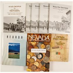 Collection of Nevada books  (85837)