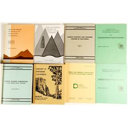 8 Volumes on California Geology  (81511)