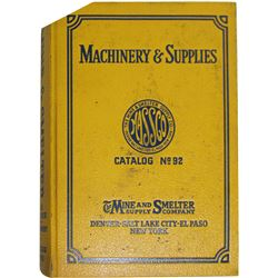 Massco Mine and Smelter Supply Co Catalog  (86266)
