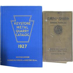 Mining and Quarry Catalogs (2)  (86270)