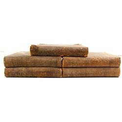 Railroad Survey Volumes, 1853-6  (81156)
