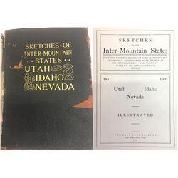 Sketches of Intermountain States(UT, ID, NV)  (86651)