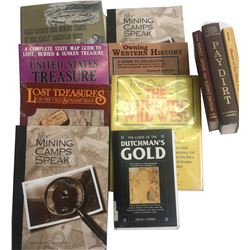 Western, Ghost Towns and Treasure Books (10)  (86648)