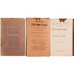 Des Moines City Directory and Business Guide for 1866 to 1867  (80277)