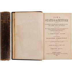Iowa State Gazetteer, 1865  (80278)