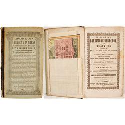 Matchett's Baltimore Director for 1847-'8  (82809)