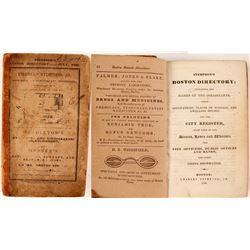 Stimpson's Boston Directory, 1836  (82814)