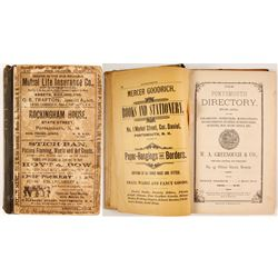 The Portsmouth Directory for 1892  (82843)