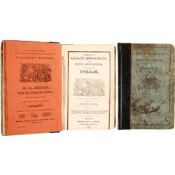 Child's Albany Directory and City Register for the Years 1835-6  (82853)