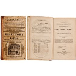 Longworth American Almanac and New York Register and City Directory, 1837  (82866)