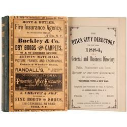Utica City Directory for the Year 1884  (82947)