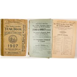 The North Carolina Yearbook and Business Directory, 1907  (82946)