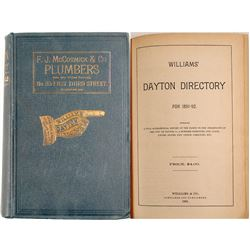 Williams' Dayton Directory for 1891-92  (82953)