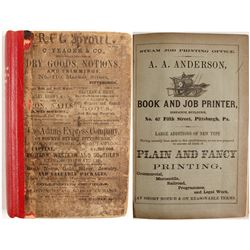 Directory of Pittsburgh and Allegheny Cities, 1860-61  (82966)