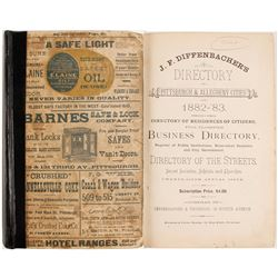 J. F. Diffenbacher's Directory of Pittsburgh and Allegheny Cities for 1882-'83  (82970)