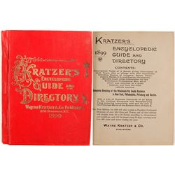Kratzer's Encyclopedic Guide and Directory, 1899  (82975)