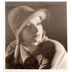Greta Garbo Portrait Print  (87404)