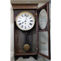 Large antique wall clock  (61169)