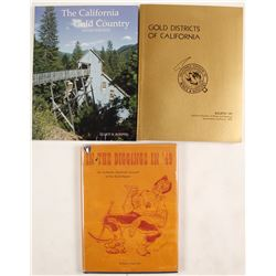 California Gold Rush Books (3)  (63348)