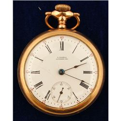 California vintage L. Vogeli Pocket Watch  (58836)