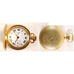 Vintage Ladies Swiss Made Elgin Pocket Watch  (99648)