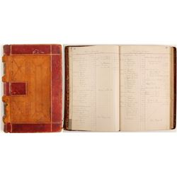 Williams Company Ledger; 1900-1902  (99645)