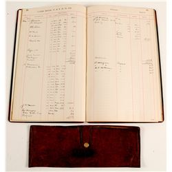 1902 Virginia & Truckee Way Bill Book and Wallet  (99643)