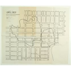 Downtown Cripple Creek Map  (86479)