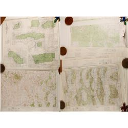 East Nevada Topography Maps (Approx. 15)  (86820)