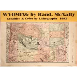 Wyoming Map  (63226)
