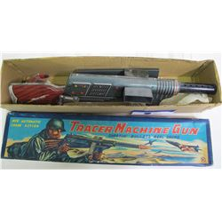 Toy Machine Gun in Original Box  (88517)