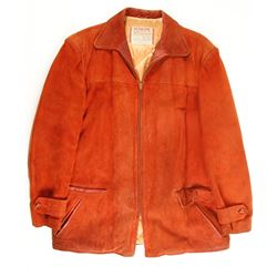 Suede Leather Jacket  size 44  (75665)