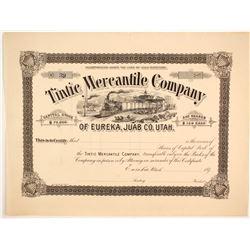 Tintic Mercantile Company Stock  (86715)