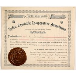 Ogden Equitable Co-operative Association Stock  (88037)