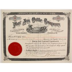 Four Jay (4J) Cattle Company Stock  (87928)