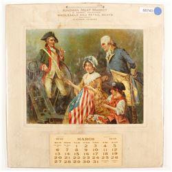 Kingman 1910 Calendar   (88740)