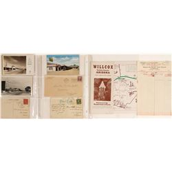 Willcox, AZ Postcards and Ephemera  (61773)