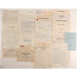 J. S. Cain Business Correspondance  (99497)