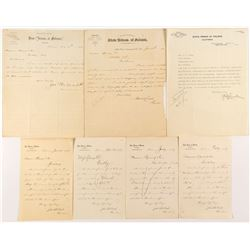 Seven pieces of Folsom Prison Ephemera  (53446)