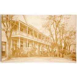 Forest House Real Photo Post Card  (88251)