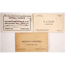 P.A. Ellis Ephemera  (88229)