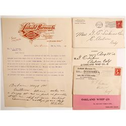 Whip and Harness Postal Covers   (88256)
