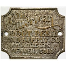 American Root Beer Supply Metal Plaque  (87113)