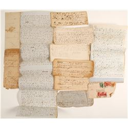 Forsyth & Cobb County, Georgia Manuscript Documents  (60105)