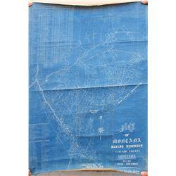 Neihart, Montana Mining Map  (84678)