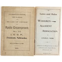 IOOF & Woodmen Accident Association By-Laws  (88230)