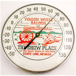 Temperature Gauge from Wagon Wheel Saloon  (86811)