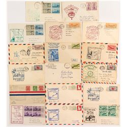 14 Western States First Flight Covers  (52004)